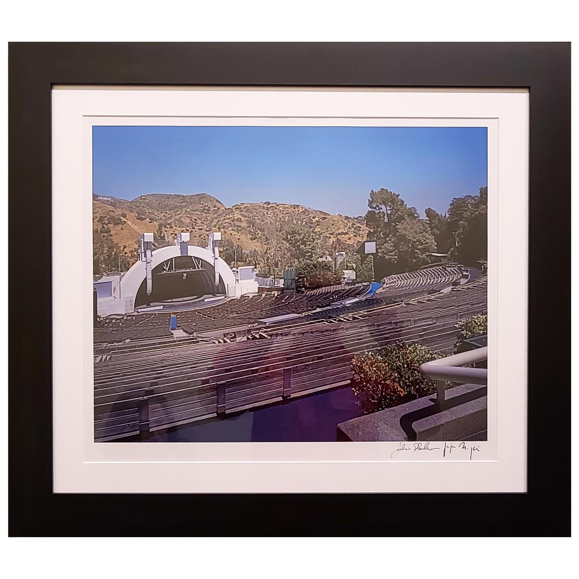 Hollywood Bowl Color Chromogenic Photographic Print by Julius Shulman, Signed
