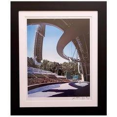 Hollywood Bowl Stage Color Chromogenic Photographic Print by Julius Shulman