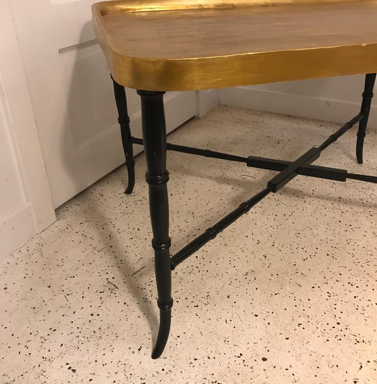 Italian Hollywood Regency Cocktail Table For Sale
