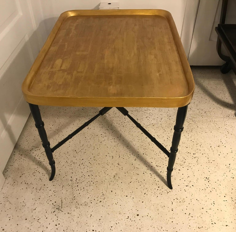 Hollywood Regency Cocktail Table In Excellent Condition For Sale In Lambertville, NJ