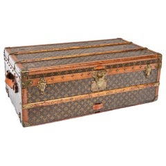 Hollywood Regency Era Louis Vuitton Vintage Cruiser Trunk
