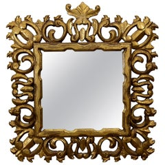 Hollywood Regency Giltwood Mirror