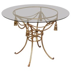 Hollywood Regency Gold Gilt Table