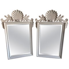 Hollywood Regency Labarge Wall or Console Mirrors, Italian