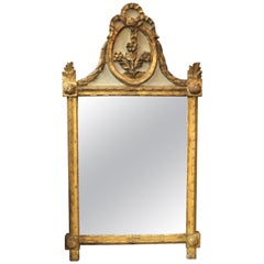 Hollywood Regency Marie-Antoinette Style Wall Mirror