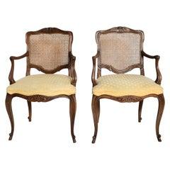 Hollywood Regency Pair of Armchairs by Kindel