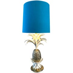 Hollywood Regency Pineapple Table Lamp, France, 1960s