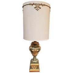 Hollywood Regency Gips Tischlampe von Light House