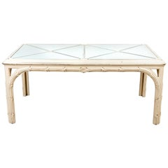 Hollywood Regency Style Dining Table