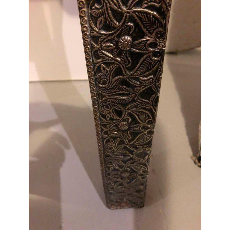 Hollywood Regency Style Filigree Console For Sale 6