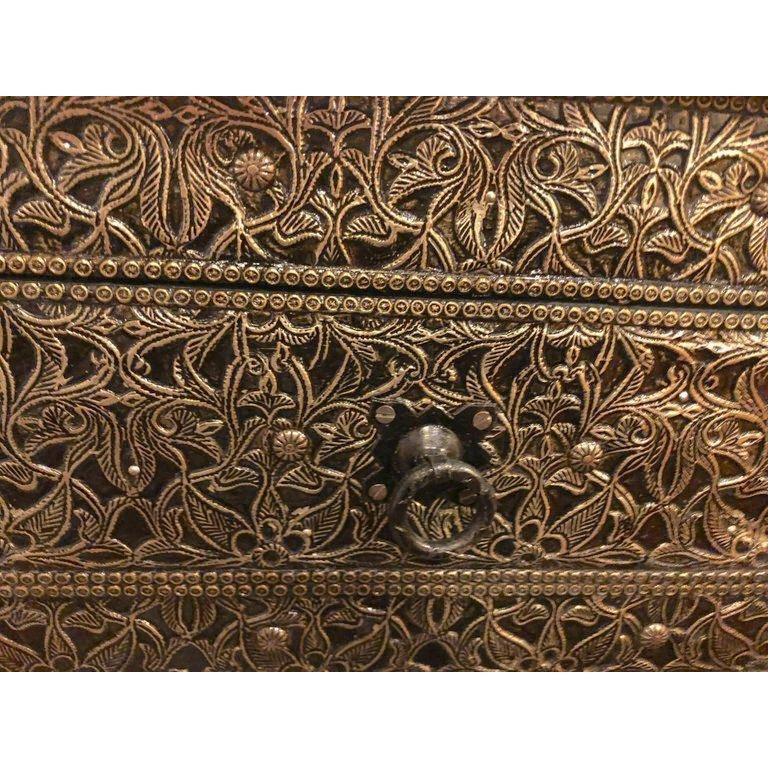 Wood Hollywood Regency Style Filigree Console For Sale