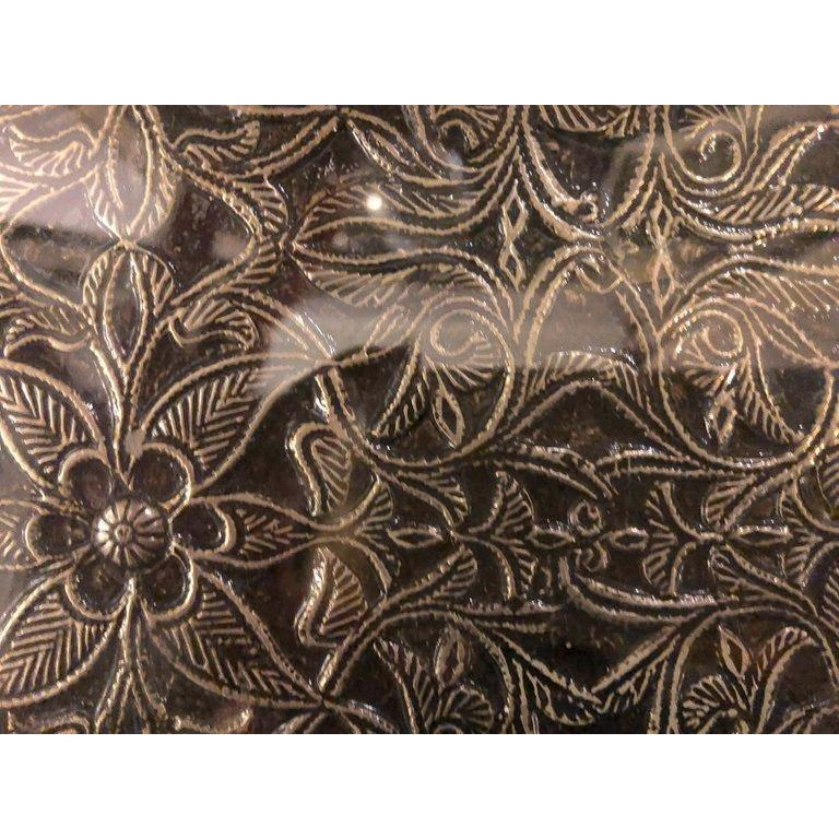 Hollywood Regency Style Filigree Console For Sale 2