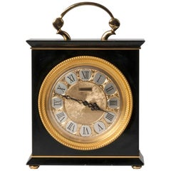 Hollywood Regency Style Mantel Clock by Jaeger LeCoultre