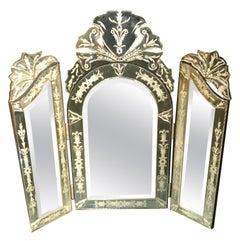 Hollywood Regency Table Mirrors