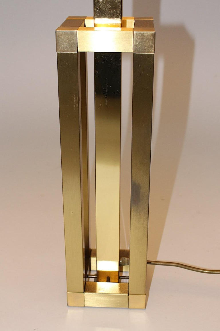 Hollywood Regency Style Vintage Brass Table Lamp Romeo Rega Style, Italy, 1970s For Sale 6