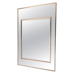 Hollywood Regency Style Wall Mirror Designed by LaBarge
