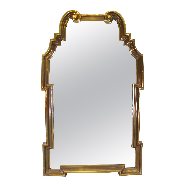 Hollywood Regency Style Wall Mirror