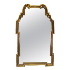 Hollywood Regency Style Wall Mirror