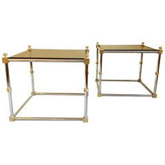 Hollywood Regency Tables after Maison Jansen, circa 1970s