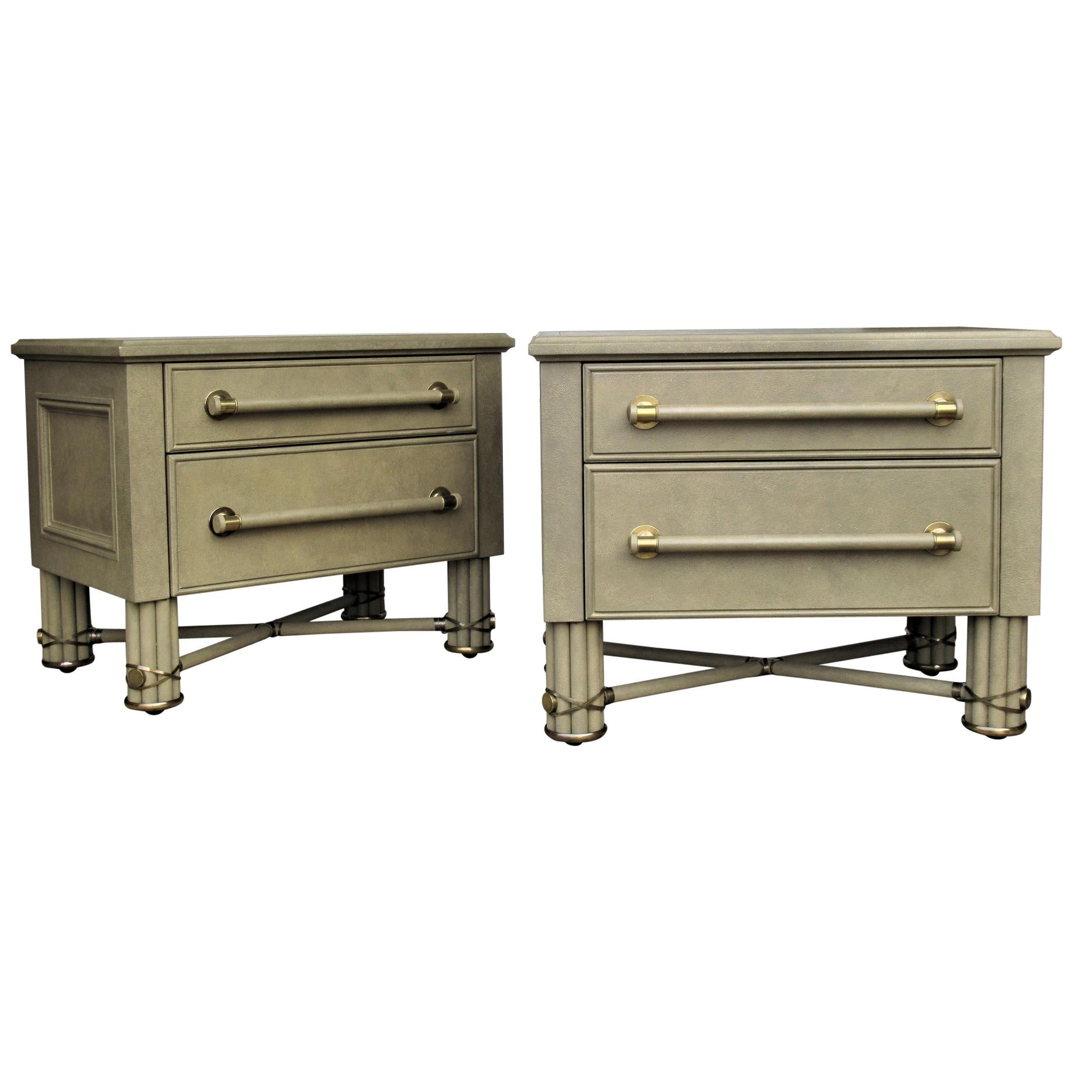 Tommi Parzinger style Chests by Hart Associates