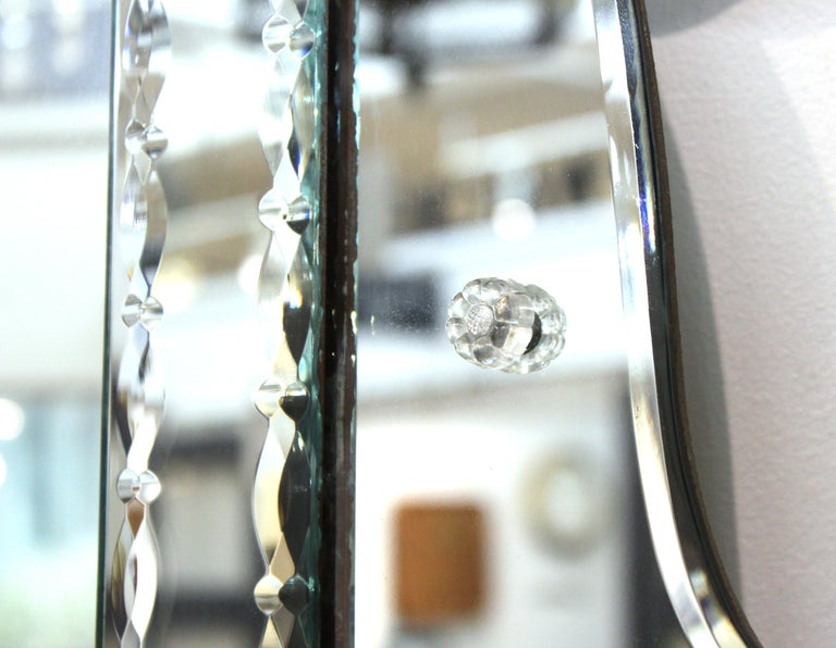 Hollywood Regency Venetian Wall Mirror For Sale 1