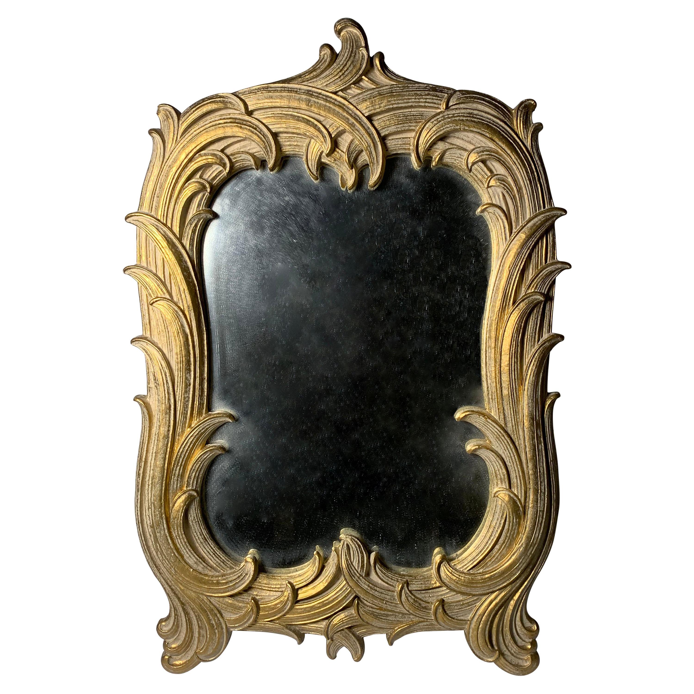 Hollywood Regency Vintage Table Top Vanity Mirror