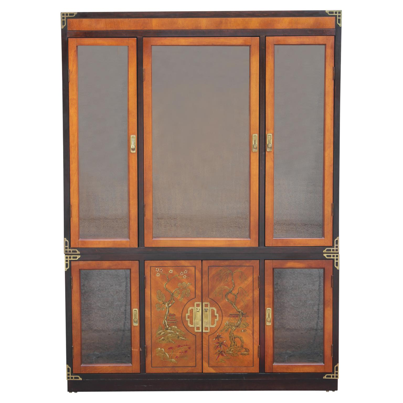 Antiques Expressive An Edward Vii Mahogany And Burr Walnut Wardrobe Good Condition !!! Antique Furniture