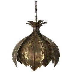 Holm & Sørensen Onion Lamp from Denmark, 1970s