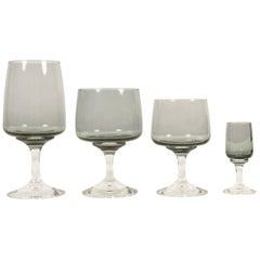 Holmegaard Atlantic Drinking Glasses 1960s Set of 24