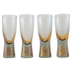 Holmegaard Canada Glasses by Per Lutken, Four