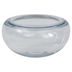 Holmegaard Glass Bowl, Denmark, 1960s