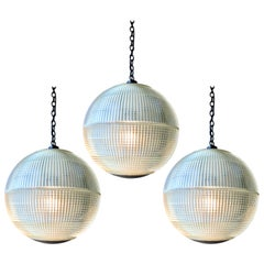 Holophane Globe Pendant from Paris Streetlight