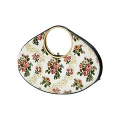 Holzman Oversized Elliptical Tapestry Handbag