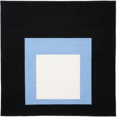 Homage to the Square, Black Setting 'Tapestry' by Josef Albers