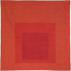 Homage to the Square, Less and More 'Tapestry' by Josef Albers