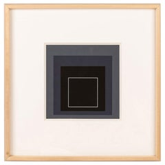 Homage to the Square Serigraph by Josef Albers