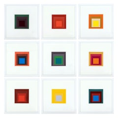 Homage to the Square Serigraphs by Josef Albers
