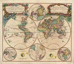 Planiglobii Terrestris Mappa Universalis / Mappe Monde