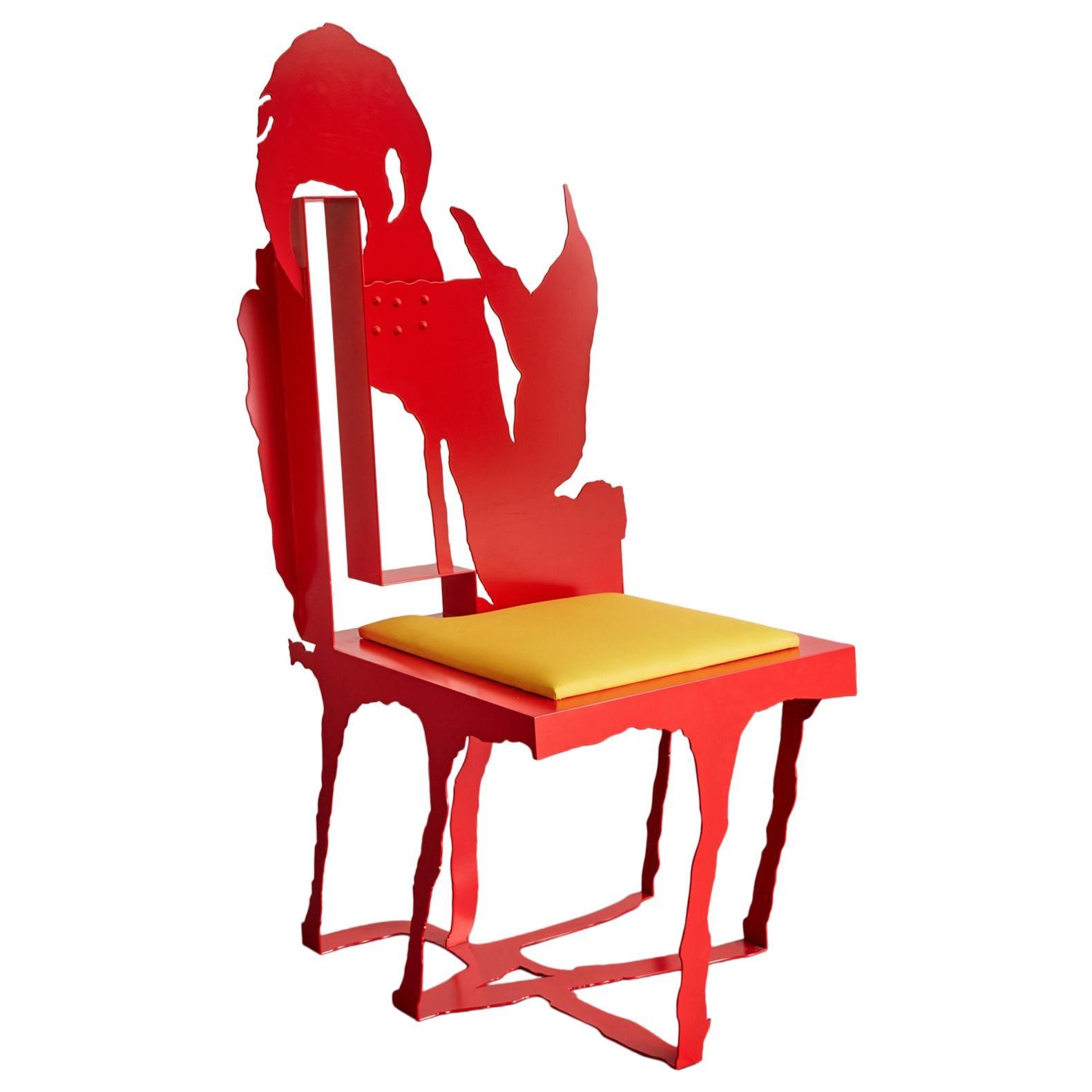 """""""Homarus"""" sculptural chair by Serban Ionescu, 2017"""