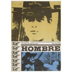 """""""Hombre"""" 1967 Czech A3 Film Poster"""