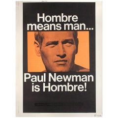 Hombre 1967 U.S. 30 by 40 Film Poster