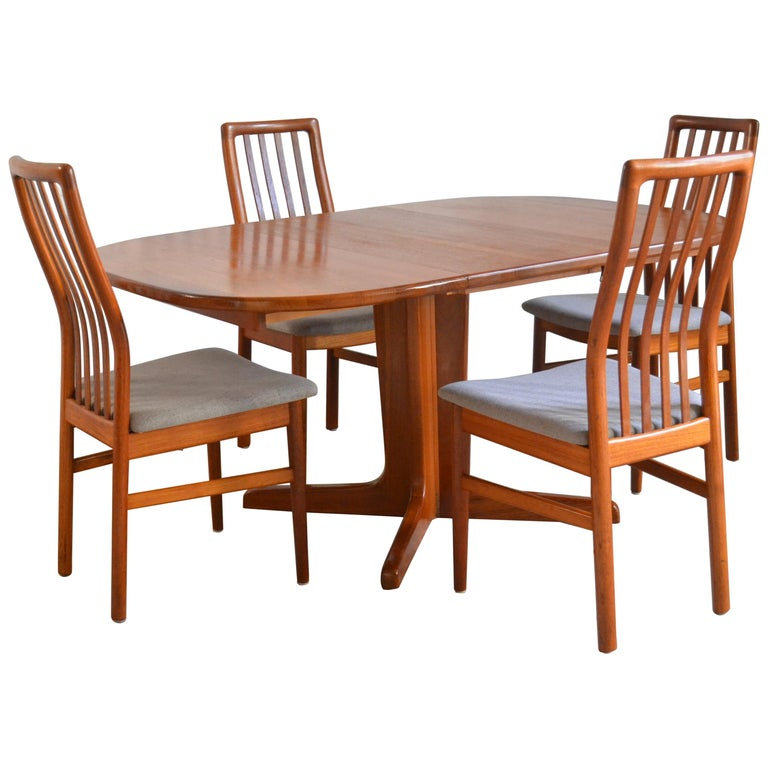 Dining Set For Sale: Home Dining Set From Skovmand And Andersen, 1960s For Sale