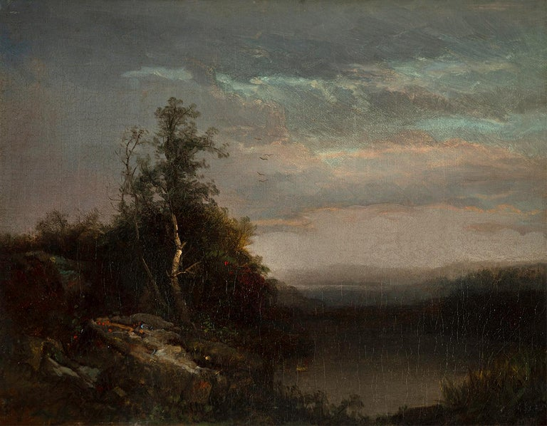Homer Dodge Martin Landscape Painting - Evening Solace