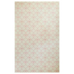 'Honey Bees' Contemporary, Traditional Wallpaper in Rose