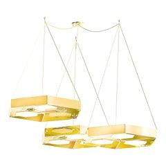 Honeybee Ensemble of Ceiling Lamps, Royal Stranger