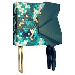 Honeycomb Emerald Cabinet, Royal Stranger