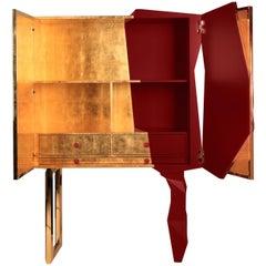 Honeycomb Ruby Cabinet, Royal Stranger
