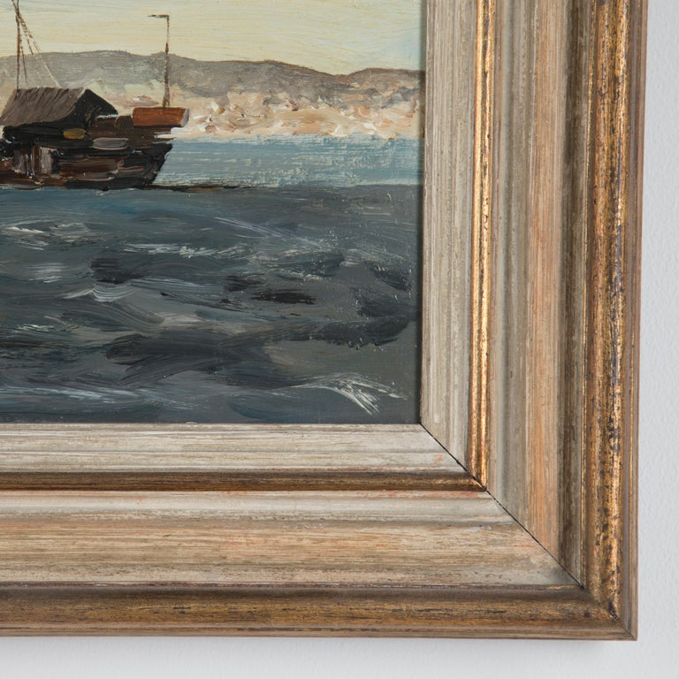 Hong Kong Harbour Edward Seago RBA RWS, 1910-1974 In Good Condition For Sale In Gloucestershire, GB