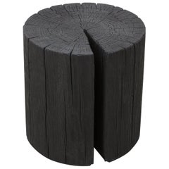 Hono Stool by Uhuru Design in Charred Pine