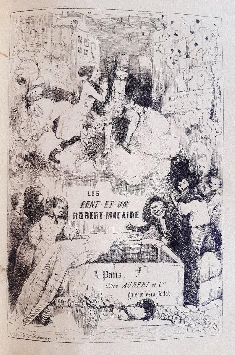 Les Cent et un Robert-Macaire - Rare Book Illustrated by Honoré Daumier - 1839